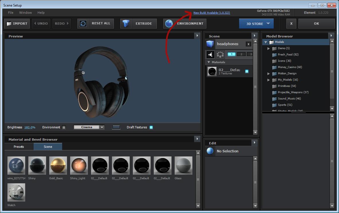 Video Copilot Element 3D v2.2.2.2168 Crack + License file Full Version