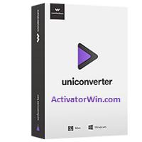 Wondershare Uniconverter License Key