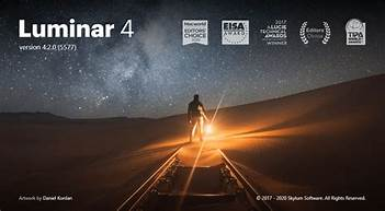 Luminar 4 Crack + Torrent Free Download Full Version 2021