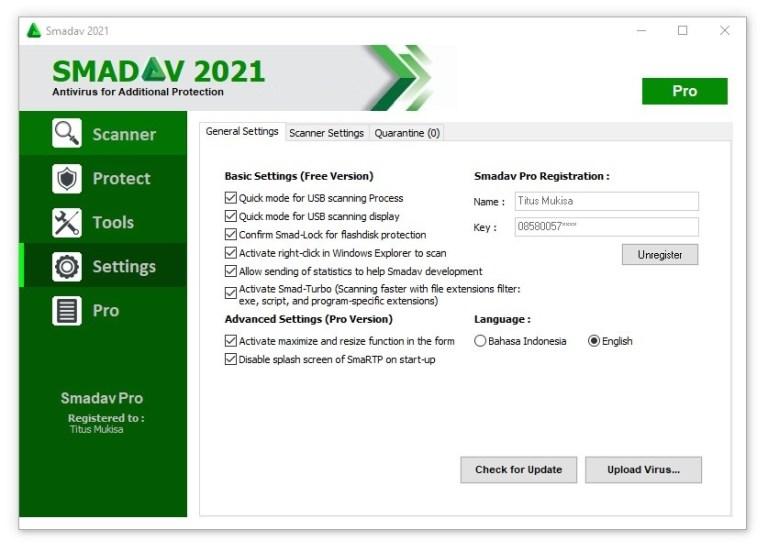 Smadav Pro 14.6.2 Crack + Serial Key Free Download Full Version 2021